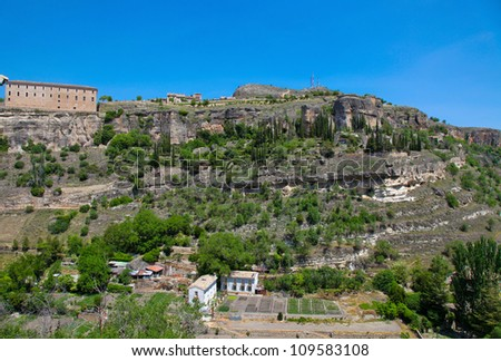 Cuenca in Castille La Mancha, Spain.