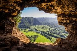 Cueva Ventana - Window Cave in Puerto Rico, USA.