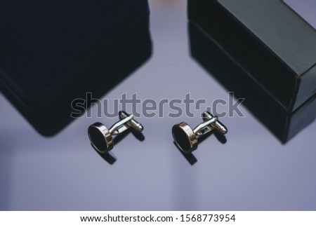 Cufflinks is accessory for men