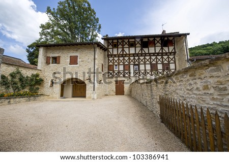Cuisiat (Ain, Rhone-Alpes, France) - House in the old village