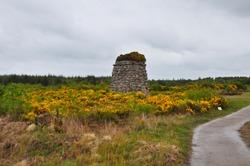 Culloden battle field memorial. Culloden, east of Inverness, Scotland
