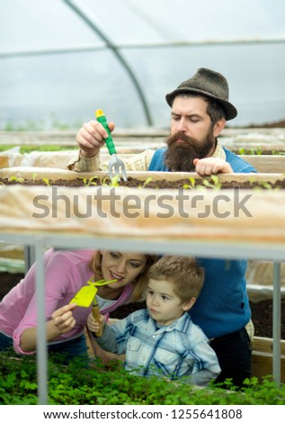 cultivation. agricultural cultivation. cultivation on family farm. greenhouse cultivation. enjoying their work
