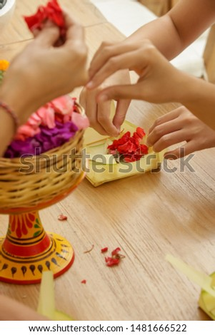 Cultural Workshop, Canang Sari, Making Balinese Hindu Offerings to the Gods