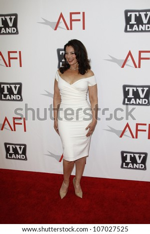CULVER CITY - JUN 9: Fran Drescher at the 39th AFI Life Achievement Award Honoring Morgan Freeman held at Sony Pictures Studios  in Culver City, California on June 9, 2011.