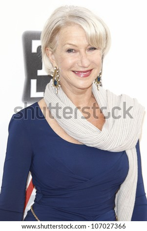 CULVER CITY - JUN 9: Helen Mirren at the 39th AFI Life Achievement Award Honoring Morgan Freeman held at Sony Pictures Studios  in Culver City, California on June 9, 2011.