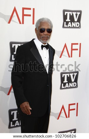 CULVER CITY - JUNE 9: Morgan Freeman at the 39th AFI Life Achievement Award Honoring Morgan Freeman held at Sony Pictures Studios  in Culver City, California on June 9, 2011.