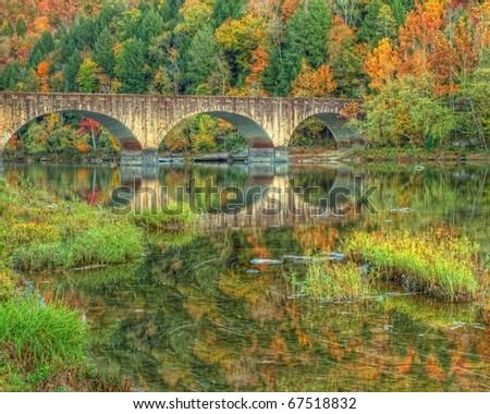 Cumberland Bridge Kentucky - stock photo