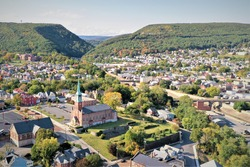 Cumberland Maryland, Church, City, town