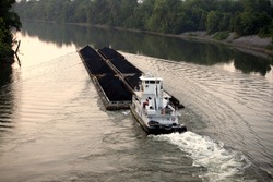 Cumberland river Tennessee , River traffic
