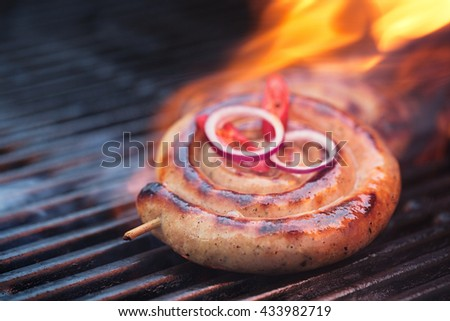 Royalty free stock photos and images cumberland sausage for How to cook cumberland sausage ring