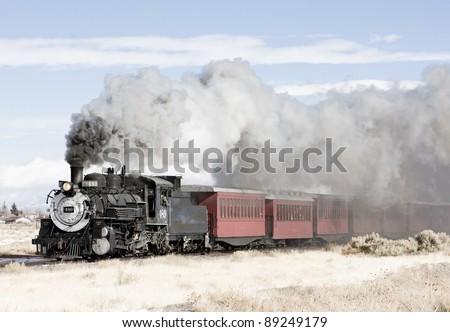 Cumbres and Toltec Steam Train, Colorado скачать