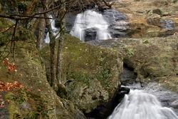 Cunningham Falls, Cunningham State Park Near Thurmont, Maryland Horizontal