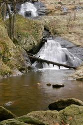 Cunningham Falls, Cunningham State Park Near Thurmont, Maryland Vertical