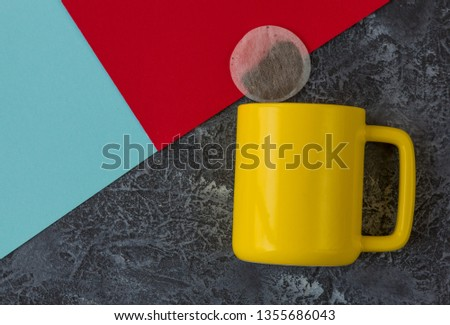 cup, mug, isolated, coffee, drink, tea, white, object, beverage, red, breakfast, empty, ceramic, single, food, cafe, morning, ceramics, blue, blank, liquid, kitchen, color, hot, nobody, background, bl