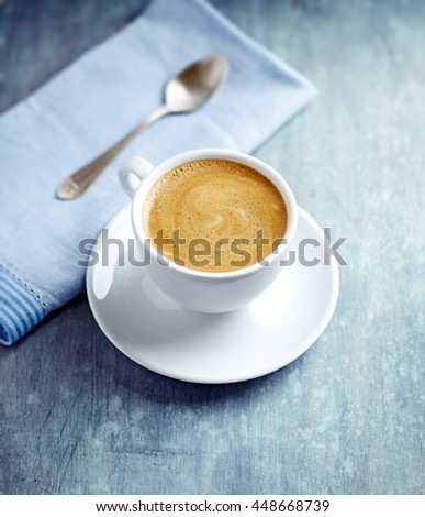 Shutterstock Cup of Cafe Crema