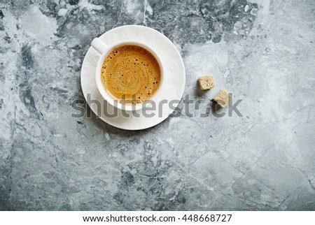 Shutterstock Cup of Cafe Crema with Brown Sugar