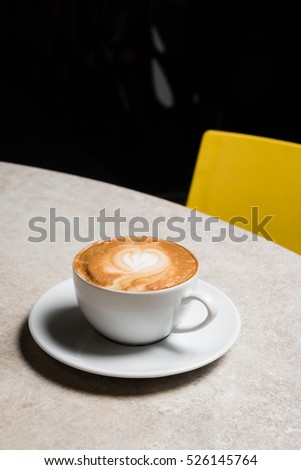 cup of cappuccino #526145764
