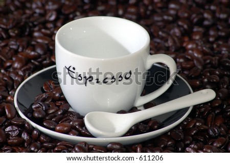 Cup of Coffe Photo stock ©