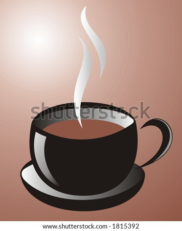 stock photo : Cup of coffee