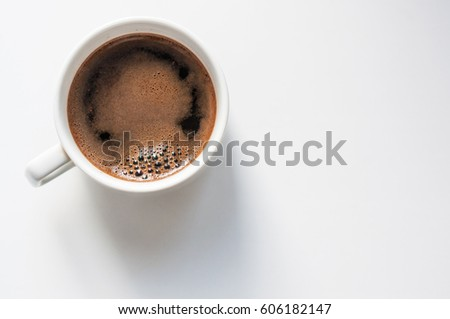 cup of coffee - Shutterstock ID 606182147