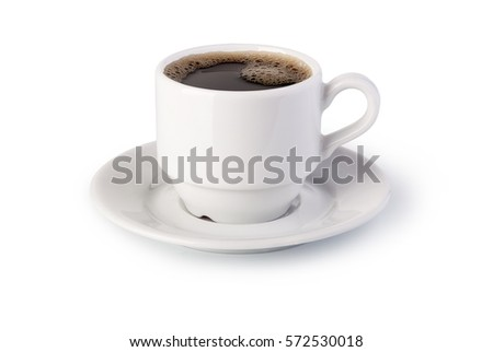 cup of coffee on white background #572530018