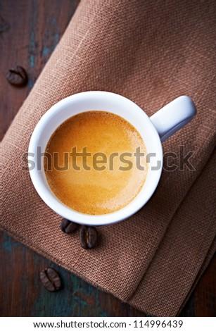 Cup of Espresso - stock photo