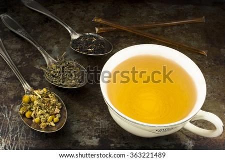 Зеленый чай на диете можно