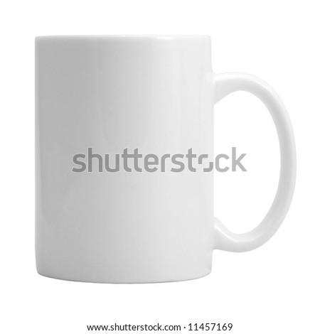 Cup on the white background (isolated). #11457169