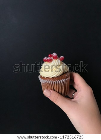 cupcake in hand #1172516725