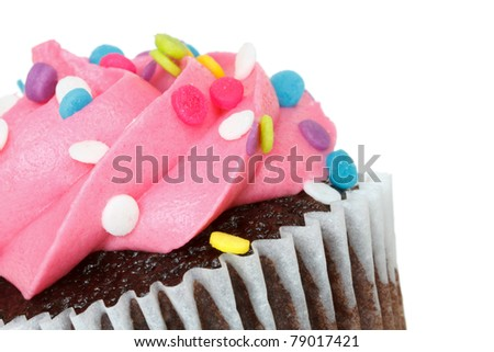 cupcake with space for text