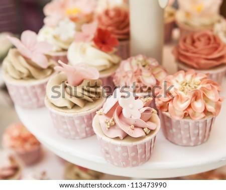 Stock Photo Cupcakes