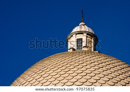 Cupola of the church in Pisa. Italy