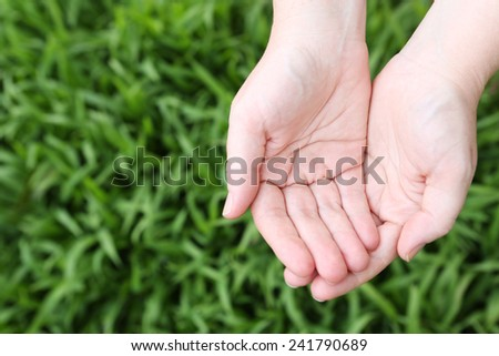 Cupped Natural Hands