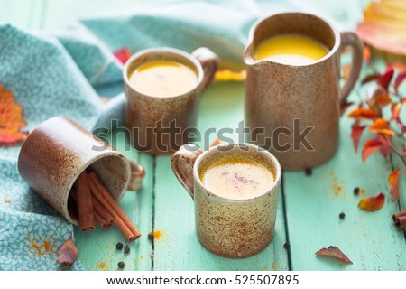 Cups of Golden Milk #525507895