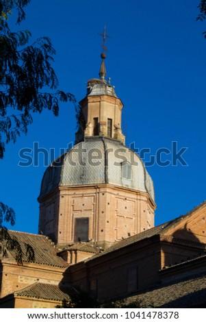 Shutterstock Cupula of the Basilica of Our Lady of the Prado - Talavera de la Reina - Spain