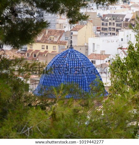 Shutterstock Cupula of the Hermitage of the Blood. Sagunto. Valencia. Spain