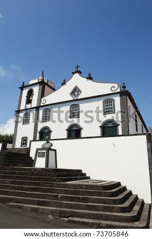 Curch of S. Joao Baptista - St. John the Baptist - Pico island, Azores