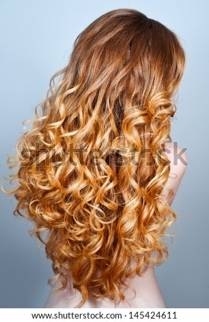 Curly Red Hair From The Back | www.pixshark.com - Images ...