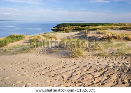 Curonian lagoon, Lithuania