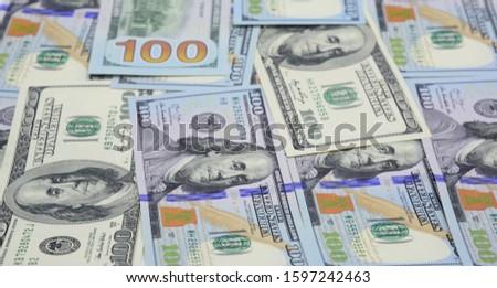 Currencies USD Concept, American Dollars Cash Money