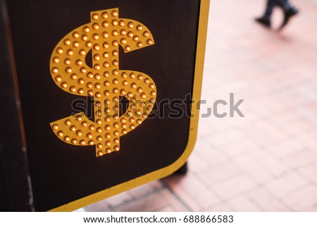 Currency symbols and sign #688866583