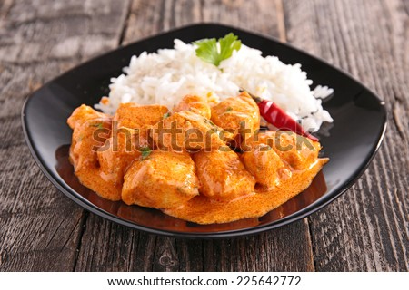 curry chicken ストックフォト ©