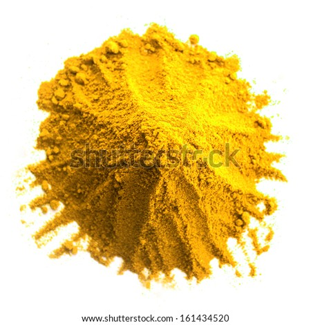 Curry Powder Isolated