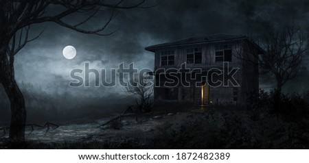 cursed house terror united states 2 Photo stock ©