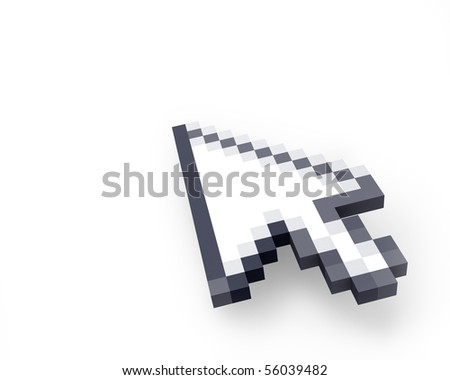 Cursor in perspective