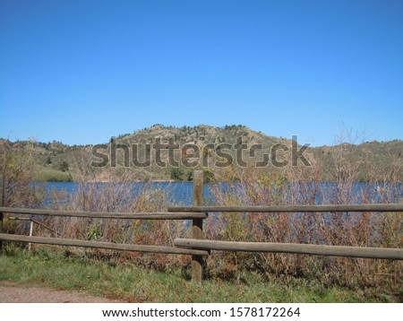 Curt Gowdy State Park in Wyoming Imagine de stoc ©