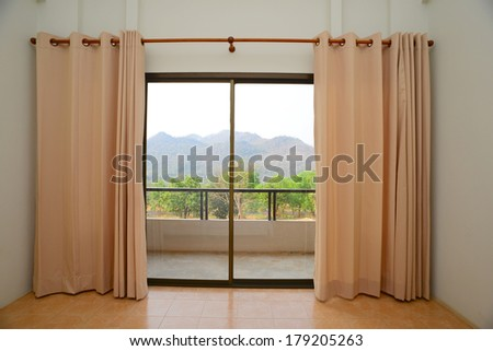 Curtains interior
