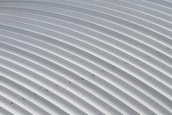 curve aluminium sheet roof, factory steel roof