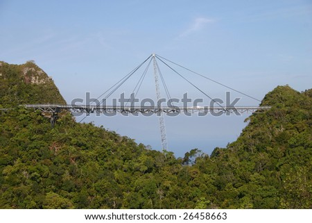 Curve Hanging Bridge (langkawi)