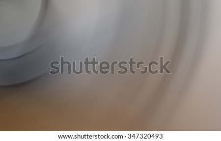 Curved blurry background or soft background.